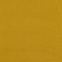 Musselin Stoff  - gelb