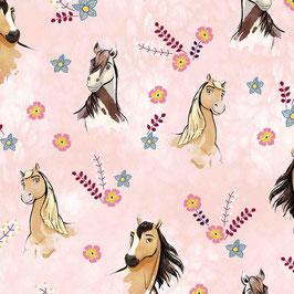 Jersey - Pferd / rosa