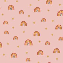 Soft Sweatstoff - Regenbogen