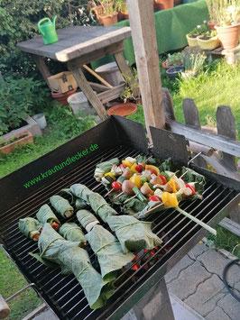 Workshop: Vegetarisch Grillen in Sylvia´s Gartenhütte