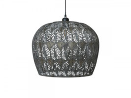 Lampe mit Muster