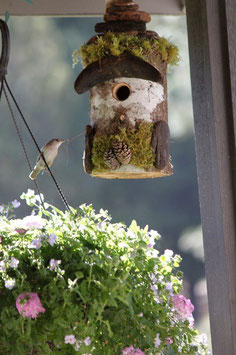 The Flat-Top Bird House