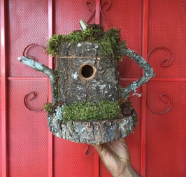 The Flat Top Bird House