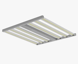 630W High End 2-Kanal Grow Panel Horizon Areas X6 Flex