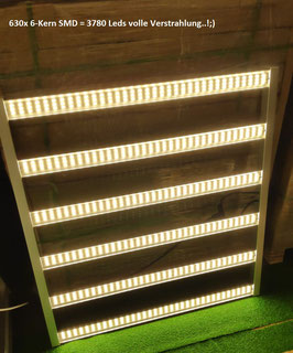 640W LED Grow Panel Horizon Areas X6 2.7