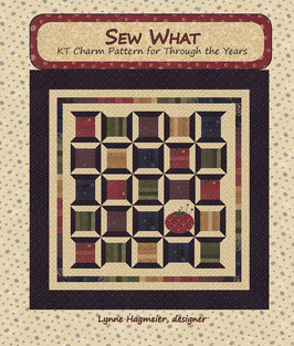 Sew What - Kit Charm Pattern for Through the Years