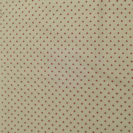 Basici - base bianca pois rossi