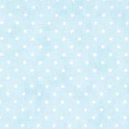 Essential dots - Pois bianco fondo celeste