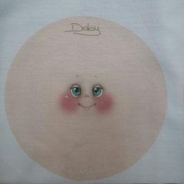 """Viso stampato su maglina """"Doby"""""""