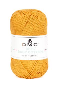 DMC 100% Baby Cotton - Giallo Senape Chiaro (794)