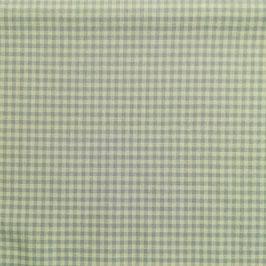 Baby - Cotone quadrettino azzurro polvere