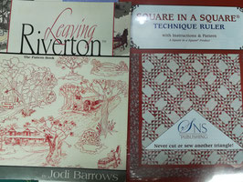 Leaving Riverton, the pattern book,  con la squadra square in square