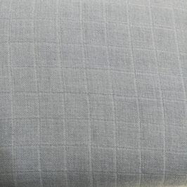 Cotone organico - azzurro tinta unita
