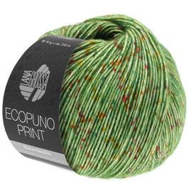 LANA GROSSA Ecopuno Print - Colore 108 (verde)