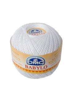 DMC Babylo size 10 (Titolo 8) - Colore B5200 (Bianco)