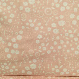 Baby fiorellini bianchi fondo rosa