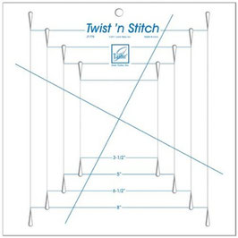 JUNE TAILOR - Twist 'n Stitch Ruler