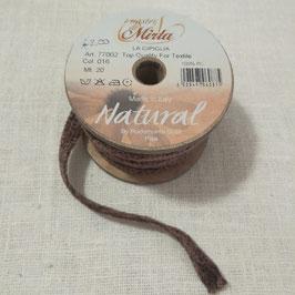 """Cipiglia by """"I Nastri Di Mirta"""" - Nastro marrone 1.5cm"""