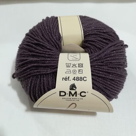 DMC woolly chic 123 - prugna