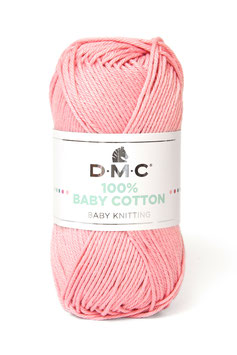 DMC 100% Baby Cotton - Rosa Candy 764