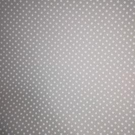 Millerighe - sfondo tortora pois bianchi