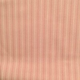 Baby - Cotone rigato rosa antico
