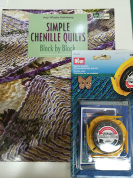 Simple chenille quilts, block by block, con il cutter per lo chenille.