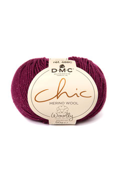 DMC woolly chic 511 - fuxia
