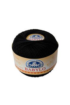 DMC Babylo size 10 (Titolo 8) - Colore 310 (Nero)