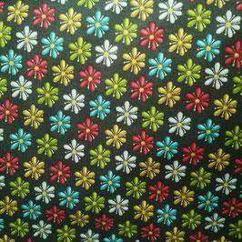 Basico - nero fiori colorati