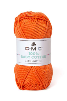 DMC 100% Baby Cotton - Arancio Corallo (753)