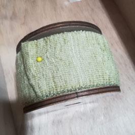 La cipiglia - Verde salvia (Nastro da 5 cm, nastro da 1,5 cm e tubolare)