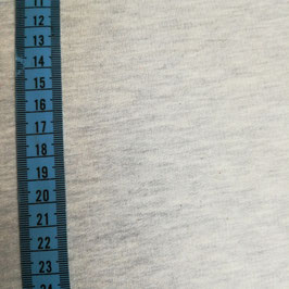 Felpa di cotone - grigio chiaro melange