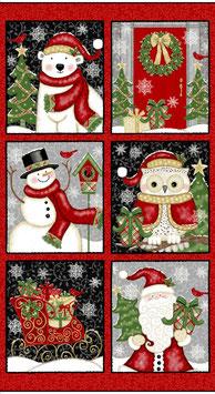 Winter greetings - pannello 60*110 cm