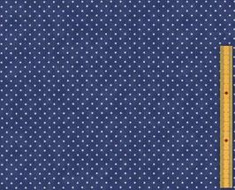 Essential dots - Pois bianchi fondo blu notte