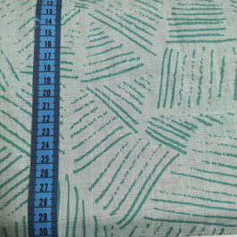 Cotone organico - verde fantasia