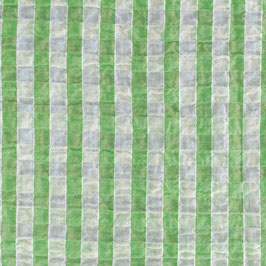 Katia - voile stropicciato verde