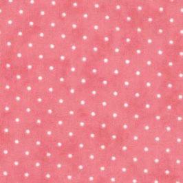 Essential dots - Pois bianco fondo fucsia