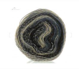 Lana grossa - Gioia grigio chiaro, grigio scuro, argento, bronzo, marrone e grigio-blu