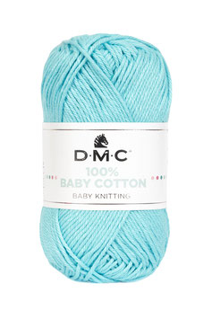 DMC 100% Baby Cotton - Turchese (785)