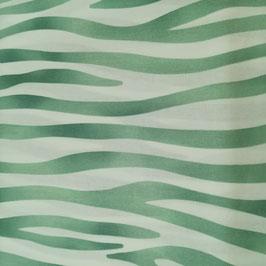 Tessuto Zebrato verde acqua