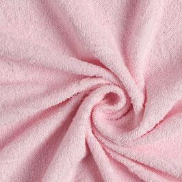 Tessuto spugna rosa