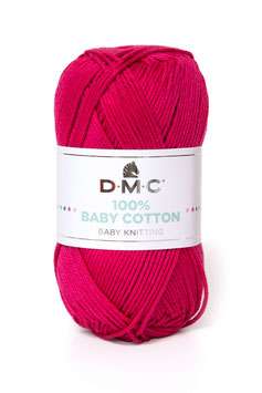 DMC 100% Baby Cotton - Fuxia (755)