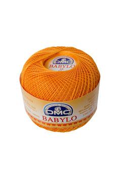 DMC Babylo size 10 (Titolo 8) - Colore 741 (Zucca)