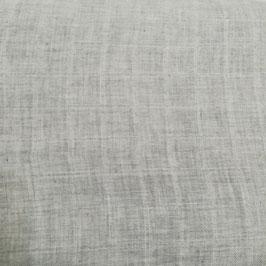 Cotone organico - grigio tinta unita