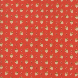 101 Maple Street - ghianda fondo rosso