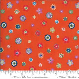 Lulu - Fiorellini bottoncini arancione