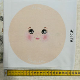 """Viso stampato su maglina """"Alice"""""""