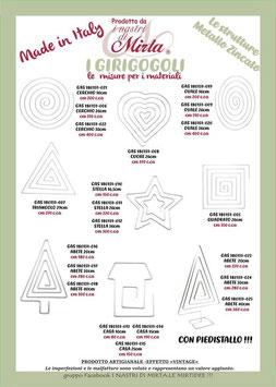 Girigogoli - misura grande, forma a scelta