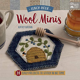 Wool Minis, Lunch Hour - The Patchwork Place